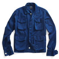 Indigo Shirt Jacket