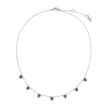 Petits Bijoux Trillion Collar Necklace by Chloe + Isabel