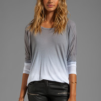 Saint Omega Oversized Top in Gray