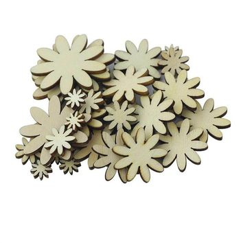 50pcs Eco-friendly Plum Button Embelishment Decorative Floral Ornament