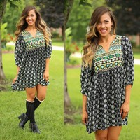 Indian Summer Dress in Taupe