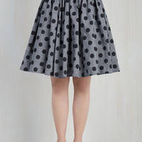 50s Mid-length Fit & Flare Saturday Sojourn Skirt