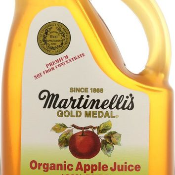 MARTINELLI'S: Gold Medal Organic Apple Juice, 64 oz