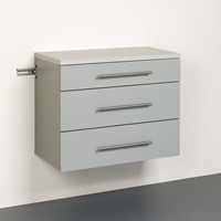 HangUps 3-Drawer Base Storage Cabinet