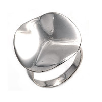 925 Sterling Silver Designer Style 23MM Ring
