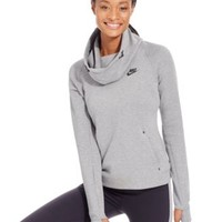 Nike Tech Fleece Long-Sleeve Hoodie | macys.com