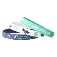 Pierce The Veil Rubber Bracelet 3 Pack