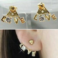 Love Earrings from p.s. I Love You More Boutique