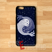yin yang in space-1nn for iPhone 4/4S/5/5S/5C/6/ 6+,samsung S3/S4/S5,S6 Regular,samsung note 3/4