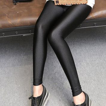 New arrival Shining sexy leggings lycra spandex leggings