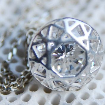 Like Diamond Pendant by SeldaOkutan on Etsy