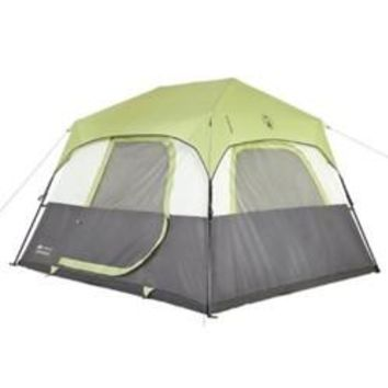Coleman Signature Tent Instant Cabin 6 Person w/Rainfly