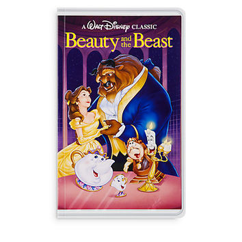Beauty and the Beast ''VHS Case'' Journal | Disney Store