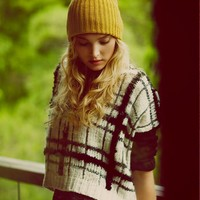 Free People Crossed Paths Pullover