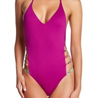 isabella rose   Besties Strappy One-Piece Swimsuit   Nordstrom Rack