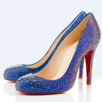 Christian Louboutin Samira Strass 100mm