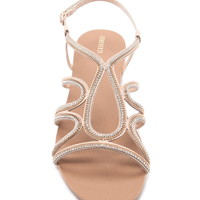 Rhinestone Cutout Sandals | Forever 21 - 2000167804