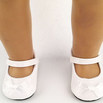 "free shipping factory price Environmental protection 18"" INCH DOLL SHOES for AMERICAN GIRL black white ballet shoe b238"