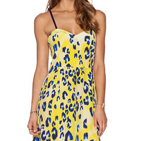 Matthew Williamson Strappy Dress in Yellow