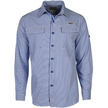 Men's Check Mate L/S UV Vented Fishing Shirt