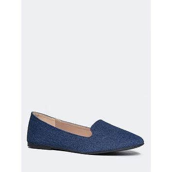Round Toe Loafer Flat