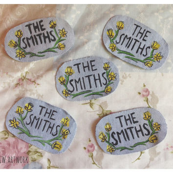 The Smiths Daffodils Logo - Hand Painted Patch