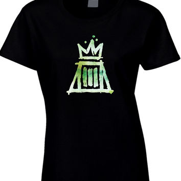 Fall Out Boy Paramore Logo Womens T Shirt