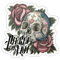 Pierce The Veil Skull Logo