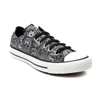 Womens Converse All Star Lo Skulls Sneaker