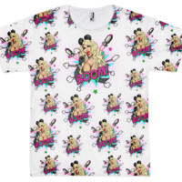 KIMORA BLAC SEX BOMB SUBLIMATED T-SHIRT