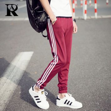 Unisex Stripped Athletic Joggers