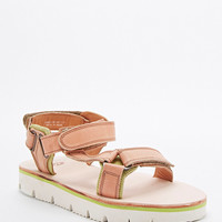 H by Hudson Calypso Velcro Sandals in Tan - Urban Outfitters