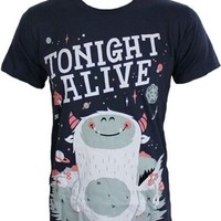Tonight Alive Monster Men's Navy T-Shirt - Offical Band Merch - Buy Online at Grindstore.com