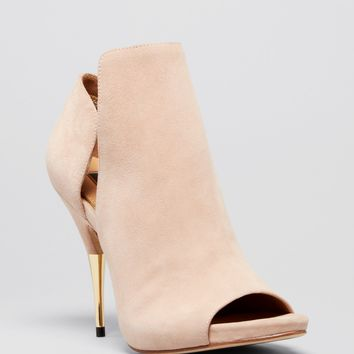 Rachel Zoe Open Toe Booties - Ainsley High Heel
