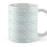 'Doodle Scallops' Mug by DoucetteDesigns