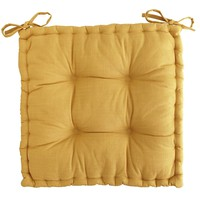 Boxed Dining Cushion - Wheat