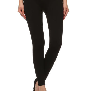 EXTREMELY WARM FUR LINED - Super Soft Leggings Solid Colors