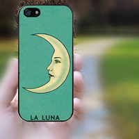 Htc One case,Htc M7 case,Htc One X case,Htc One S case,iphone 5s case,iphone 5 case,iphone 5c case,iphone 5s cases--Moon,in plastic.