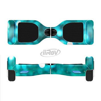 The Unfocused Subtle Blue Sparkle Full-Body Skin Set for the Smart Drifting SuperCharged iiRov HoverBoard
