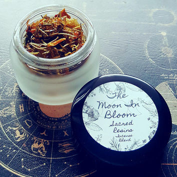 Solar Honey | Resin Incense Blend | Lemon, Honey, Sage, Copal, Rosemary | Herbal, Warm, & Comforting | Spiritual Gifts | Loose Incense