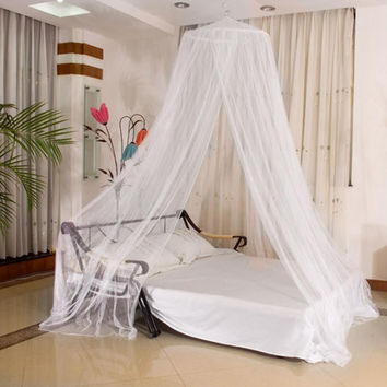 Mosquito Net Netting Child Toddler Bed Bedroom Crib Canopy Netting