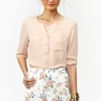 Barely There Blouse in  Clothes at Nasty Gal