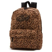Vans Leopard Realm Backpack (Mocha Bisque)