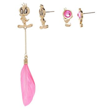 Tweety Bird Earrings Looney Tunes Jewelry - Looney Tunes Earrings Tweety Bird Jewelry - Looney Tunes Accessories
