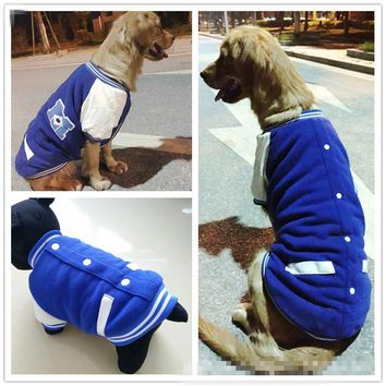 French Bulldog Clothes Winter Small Dog Coat Jacket Pug Poodle Clothing mascotas ropa para perros Big Dog's Clothes Costume