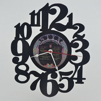 Vinyl Record Album Wall Clock (artist is Styx)