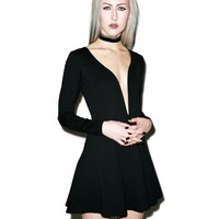 SPEECHLESS DEEP V DRESS