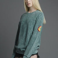 Green Midnight Hour Sweater