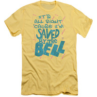 SAVED BY THE BELL/SAVED - S/S ADULT 30/1 - BANANA -