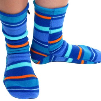 Polar Feet Adult Socks - Jazz Stripes